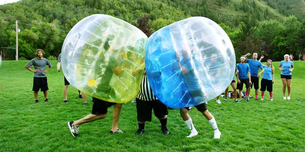 Bubble football göteborg